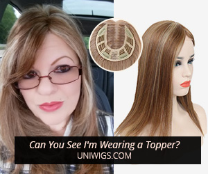 UniWigs Hair Topper